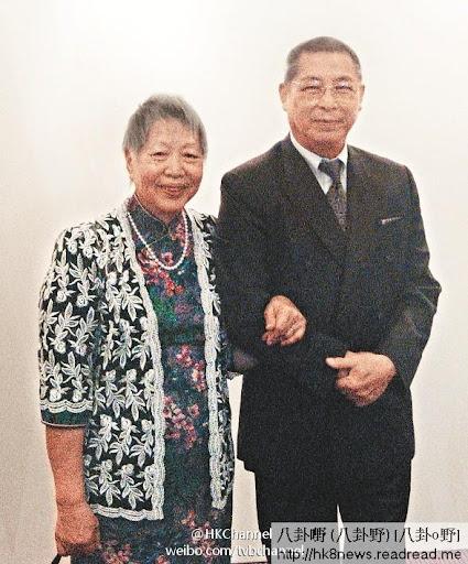 劉兆銘的妻子張慧玲,上周末在醫院病逝