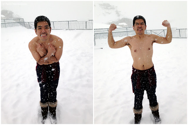 What hypothermia? :-P