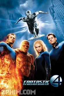 Bộ Tứ Siêu Đẳng 2: Chiếc Ván Bạc - Fantastic 4: Rise of the Silver Surfer (2007) Poster