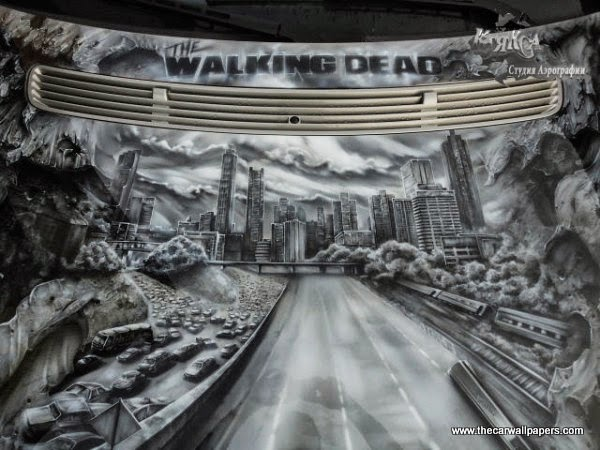 Unique The Walking Dead Mercedes