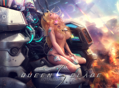Game nữ giới Queen's Blade cập cảng Nhật Bản 1