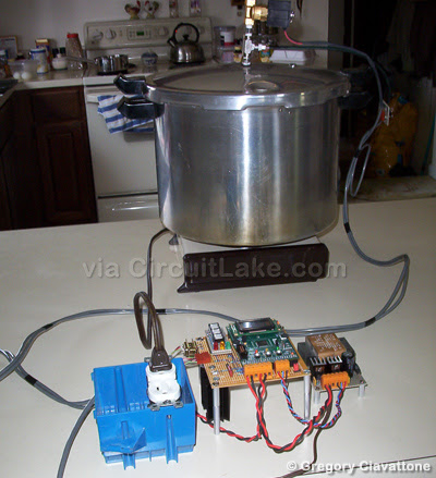 Pressure Canning Process Controller Project