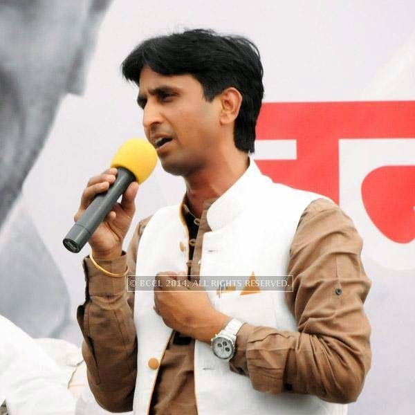 "Vishwas has no qualms in attributing his new-found popularity to his face-off with Gandhi. ""It's a fact that certain sections which did not take me seriously were forced to sit up and notice when I decided to contest against Rahul Gandhi. My campaign in Amethi was covered by international media and voters had started asking Rahul some uncomfortable questions,"" he said."