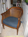 Patch chair before