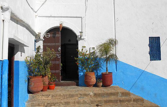 Türen in der Kasbah von Rabat