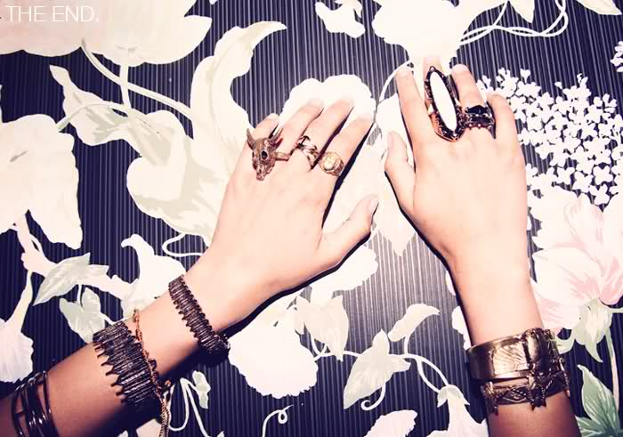 Bold statement rings