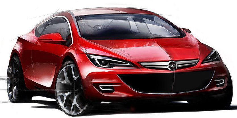 Opel Astra Caravan 2010. astra new