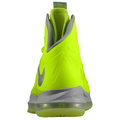 nike lebron 10 ss atomic volt dunkman 1 02 Nike, This is How We Want Our Volts! With Diamond Cut Swoosh.