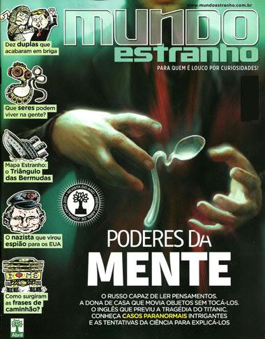6 Revista Mundo Estranho – Edição 120 – Janeiro 2012