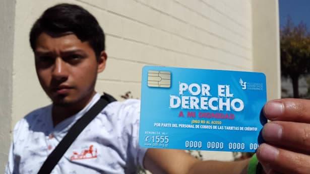Denuncias por acoso de cobros por parte de empresas de tarjetas de credito