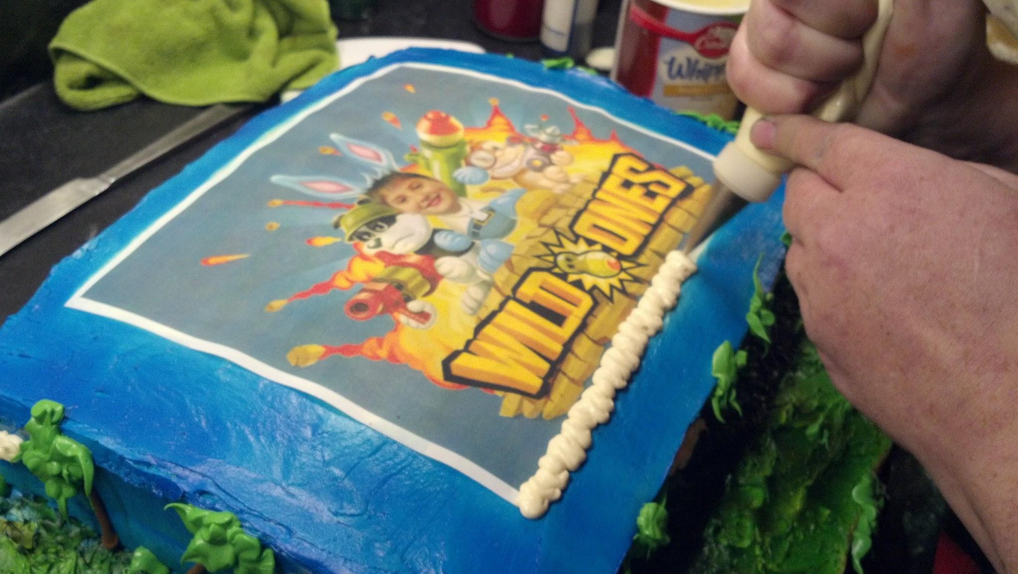 My Nephews Birthday Cake Hidden Cell Phone Scott Cramer wrote this