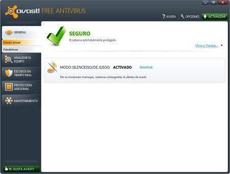antivirus Avast Free 6