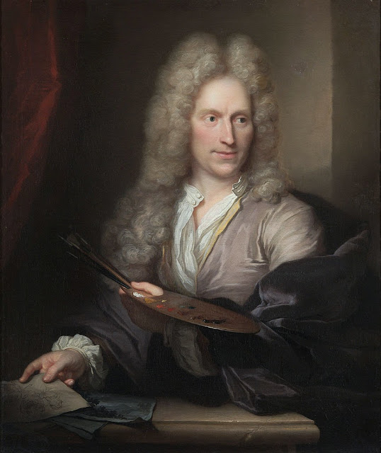 Arnold Boonen - Portrait of Jan van Huysum