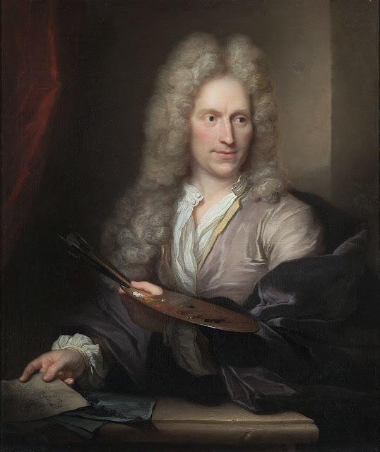 Arnold Boonen - Portrait of Jan van Huysum