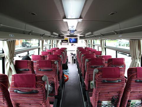 沿岸バス「特急はぼろ号」 ・393 車内