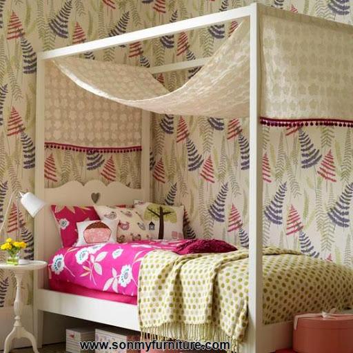 Những mẫu phòng ngủ thoáng mát cho mùa hè_nội thất phòng ngủ-3
