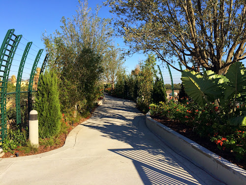 Cabana Bay garden bridge open