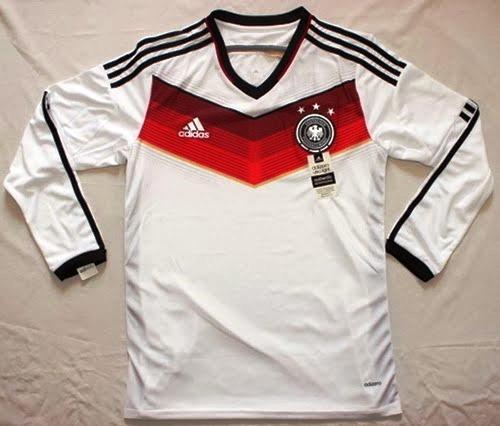 Jual Jersey Lengan Panjang Jerman Piala Dunia 2014