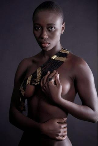 Best female model from Sierra Leone, Kadiatu Kamara