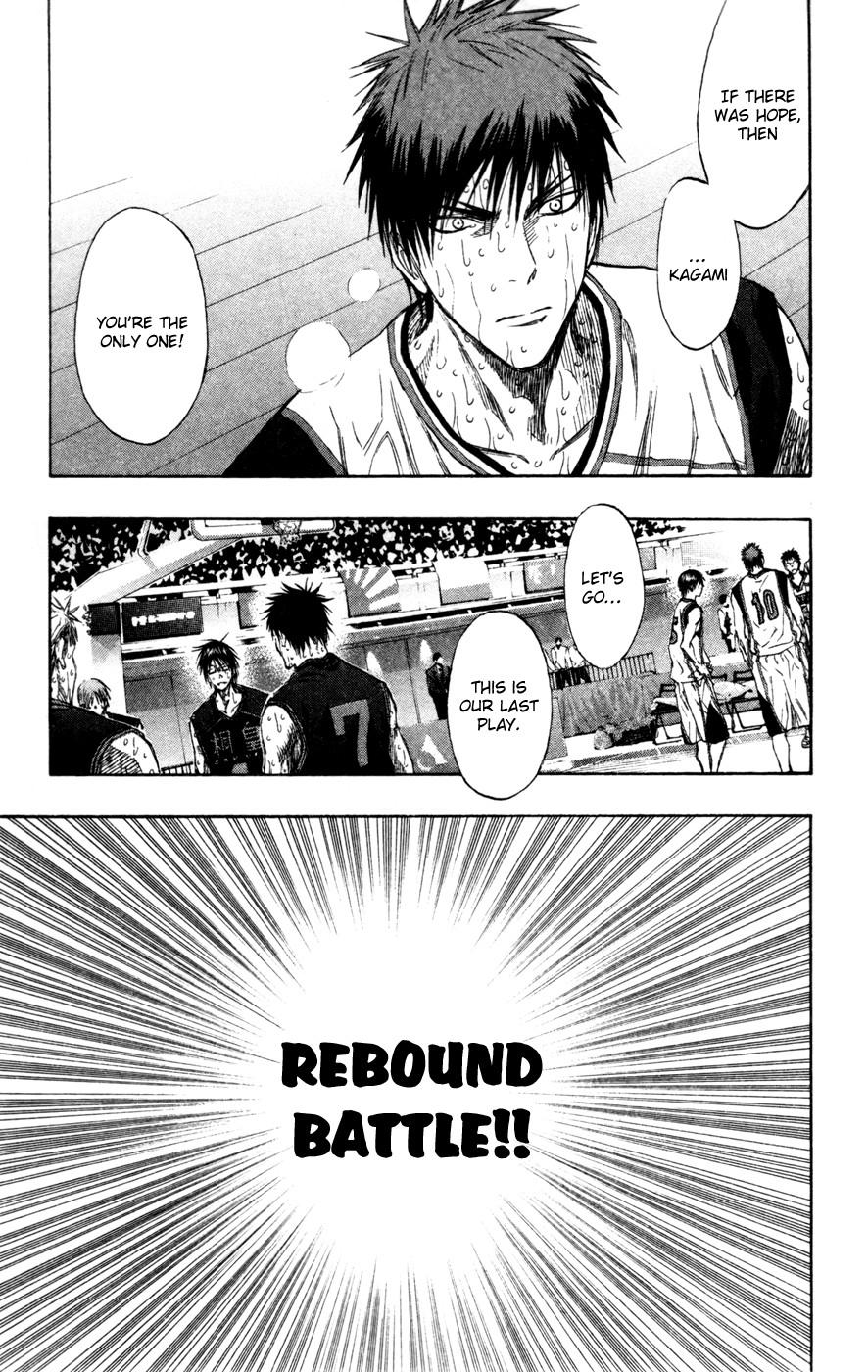 Kuroko no Basket Manga Chapter 138 - Image 09