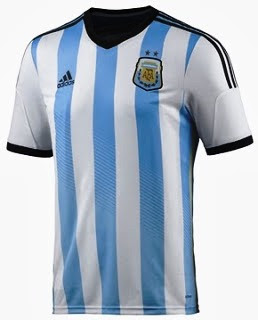 Jual Jersey Argentina Piala Dunia 2014