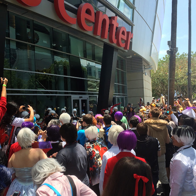 Anime Expo 2015 Tokyo Ghoul Gathering