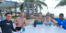 J/22 one-design sailors enjoying Cayman Islands