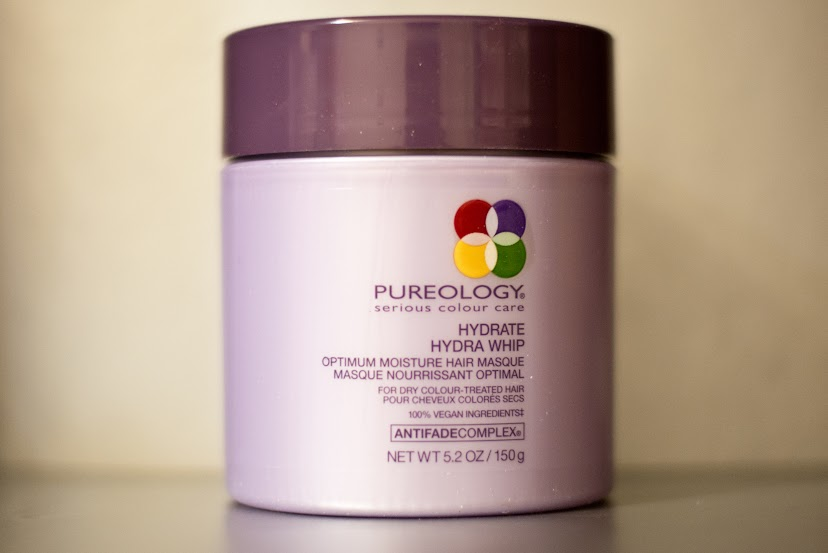 pureology hydrate hydra whip hair masque