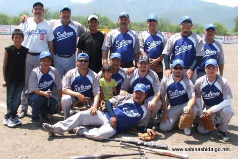 Equipo SUTERM del torneo de softbol del Club Sertoma