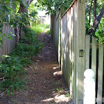Pedestrian Alleyway on Vernon St (342958)