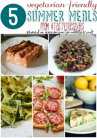 5 #vegetarian #summer meal ideas from #tastytuesdays on Anyonita Nibbles