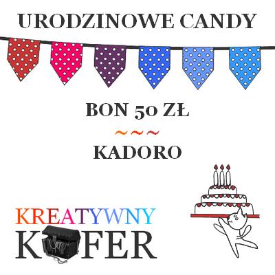 Urodzinowe Candy z Kadoro