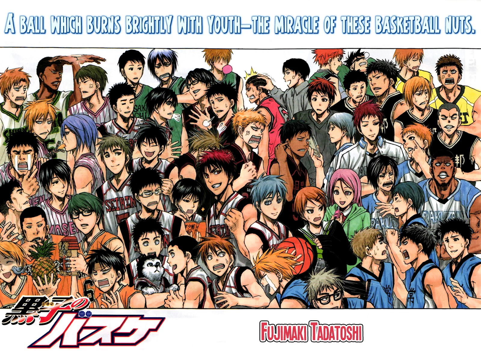 Kuroko no Basket Manga Chapter 274 - Image 02-03