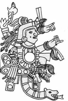 Goddess Cihuacoatl Image