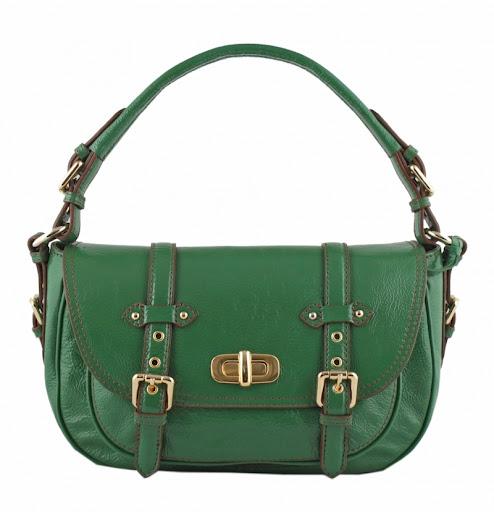 yeşil çanta modeli