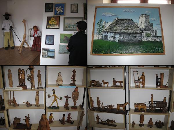Wystawa prac w domu kultury w Siewierzu