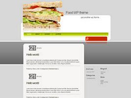Food wp theme