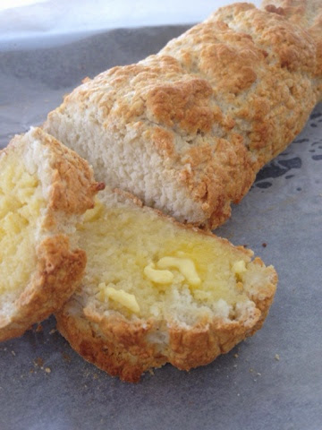 Gluten Free Crusty Bread Loaf