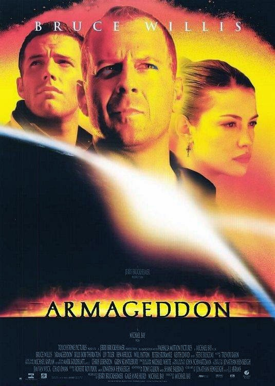 Poster Of English Movie Armageddon (1998) Free Download Full New Hollywood Movie Watch Online At alldownloads4u.com