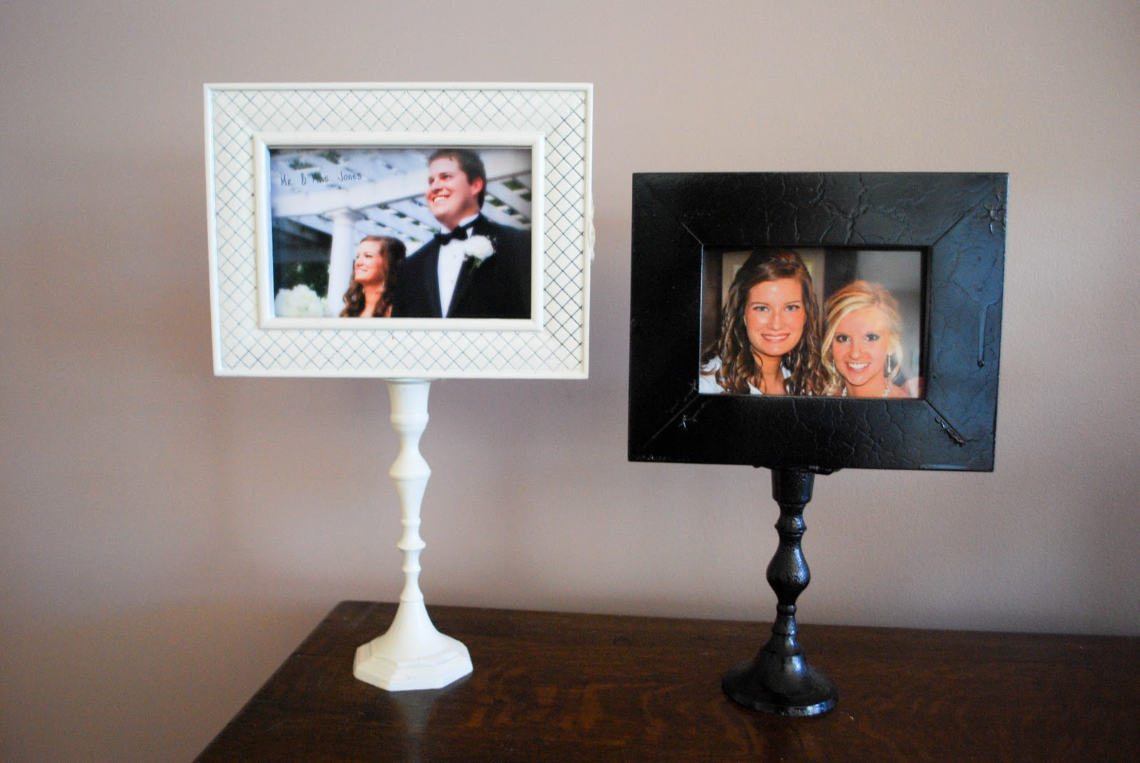 The Jones Journal Diy Picture Frame Pedistal Tutorial