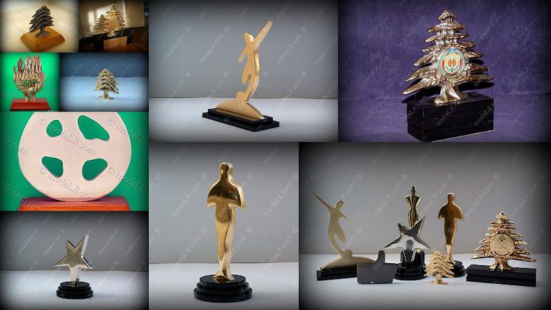 Die cast Trophies