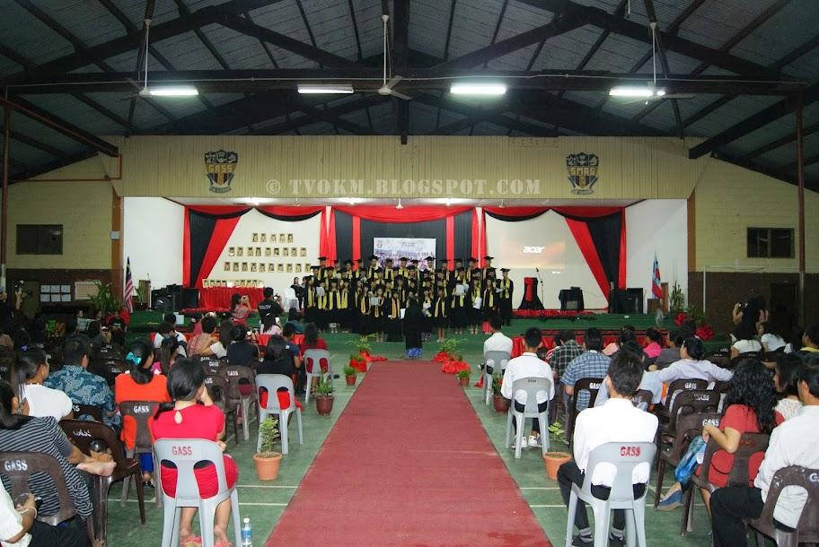 sekolah menengah advent goshen graduation 2013