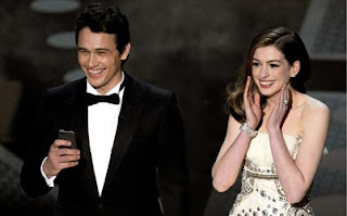 James Franco e Anne Hathaway