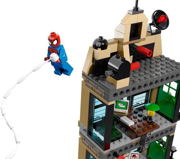 レゴ スーパーヒーローズ スパイダーマン デイリー・バグルでの決戦 76005