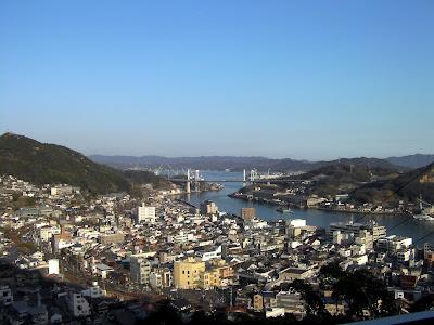 瀬戸内海を一望できる尾道千光寺からの眺め