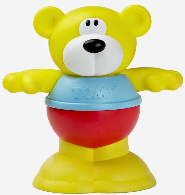 Đồ chơi khi tắm Gấu Puddle vui vẻ với các bộ phận được tạo nên từ nhiều màu sắc khác nhau