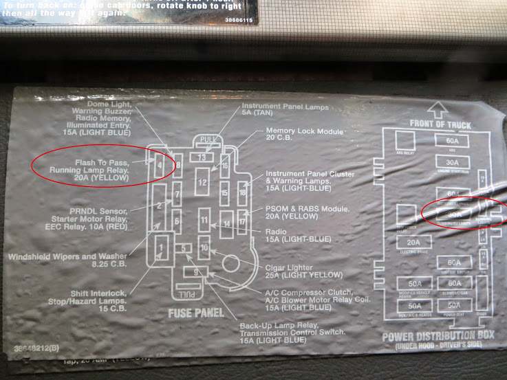 Ford F750 Wiring Schematic Park Light