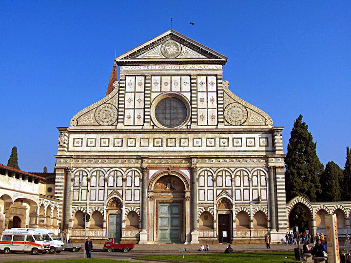 Santa Maria Novella is the church in Florence adjacent to the train and bus station. Bocaccio's characters in the Decameron meet at the church to depart together for Fiesole. Danielle Oteri - #StudyAbroadBecause It Makes You Feel Alive.
