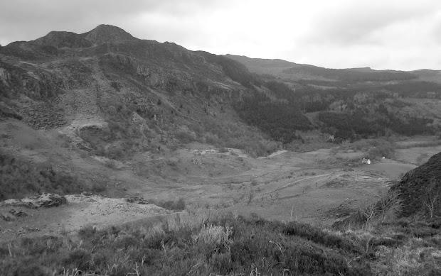 Crafnant Valley from Crimpiau