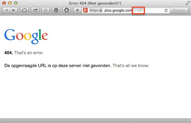 Geen Google+ brandpagina voor Lidl
